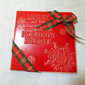 Hallmark Christmas Plaque
